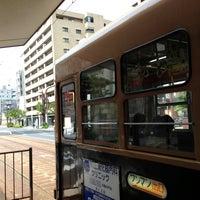Photo taken at 広島電鉄 寺町電停 (Tera-machi Sta.) (Y2) by Masanori S. on 5/31/2013