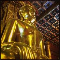 Photo taken at Wat Phu Mintr by Kanok C. on 12/28/2012