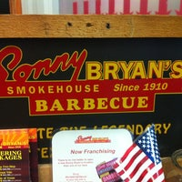 Photo taken at Sonny Bryan's Smokehouse by John Z. on 2/15/2013