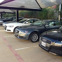 Photo taken at DFW Audi by Richard H. on 8/24/2013