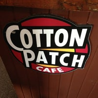 Photo taken at Cotton Patch Cafe by Richard H. on 7/14/2013