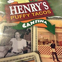 Photo taken at Henry's Puffy Tacos & Cantina by Richard H. on 8/30/2013