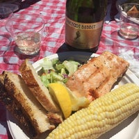 Photo taken at World's Largest Salmon BBQ by Amanda H. on 7/4/2015