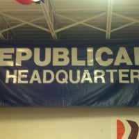 Photo taken at Montgomery GOP HQ by Chris G. on 11/10/2012