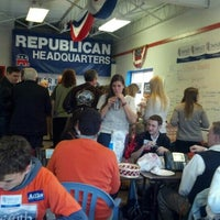 Photo taken at Montgomery GOP HQ by Chris G. on 11/5/2012