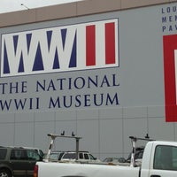 Photo taken at The National WWII Museum by Kent G. on 2/22/2013