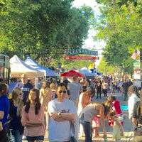 Photo taken at 1st Wed. Pleasanton Main Street Fair by Michael B. on 7/7/2016