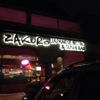Photo taken at Zakuro Japanese Bistro & Sushi Bar by Michael B. on 9/29/2014