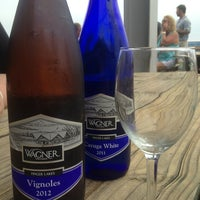 Photo taken at Wagner Vineyards by Emily M. on 7/12/2013