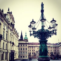 Photo taken at Prague Castle by Richard G. on 1/7/2013