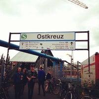 Photo taken at Bahnhof Berlin Ostkreuz by Brian P. on 5/18/2013