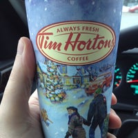 Photo taken at Tim Hortons by David S. on 12/26/2012