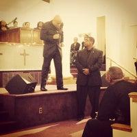 Photo taken at New Samaritan Baptist Church by James D. on 1/1/2014