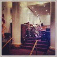 Photo taken at New Samaritan Baptist Church by James D. on 8/10/2013