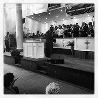 Photo taken at New Samaritan Baptist Church by James D. on 3/31/2013