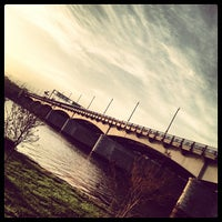 Photo taken at John Philip Sousa Bridge by James D. on 4/16/2013