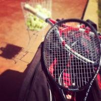 Photo taken at Tenis Rals Marbella Resort by J@ck S. on 1/18/2014