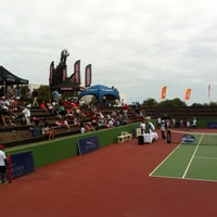 Photo taken at Tenis Rals Marbella Resort by J@ck S. on 2/15/2014