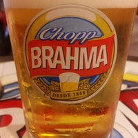 Photo taken at Quiosque Chopp Brahma by Ale B. on 2/17/2013