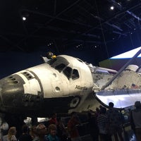 Photo taken at Atlantis Exhibit Kennedy Space Center by Bruno W. on 8/6/2014