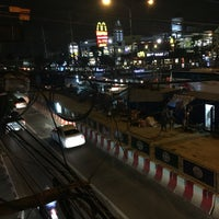 Photo taken at Rong Phayaban Noppharat Intersection by .phatcha❁ on 7/22/2016
