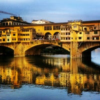 Photo taken at Ponte Vecchio by Natalia S. on 5/4/2013