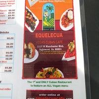Photo taken at Equelecuá Cuban Café by Brian H. on 5/1/2017