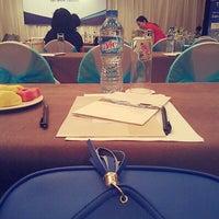 Photo taken at Eastin Grand Hotel Saigon by Sya T. on 7/17/2013