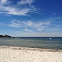 Photo taken at Wild Harbor Estates Beach by Matt H. on 9/15/2013