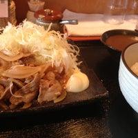 Photo taken at おでん まめひろ by Takehiro I. on 4/23/2013