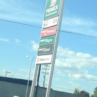 Photo taken at Gasolinera PEMEX by Willy T. on 1/12/2013