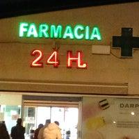 Photo taken at farmacia 24 h by Gustavo T L. on 2/15/2014
