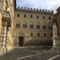Photo taken at Piazza Tolomei by Franka K. on 9/18/2016