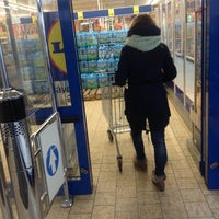 Photo taken at Lidl by Денис Ю. on 1/2/2014
