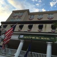 Photo taken at Gettysburg Hotel by Elizabeth M. on 6/30/2016