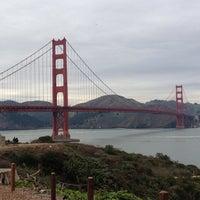Foto scattata a Golden Gate Overlook da Michelle G. il 12/28/2012