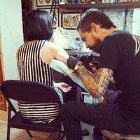 Photo taken at Three Kings Tattoo Parlor by John S. on 7/2/2013