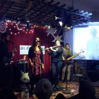 Photo taken at Every Thing Goes Cafe and Bookstore by Brian K. on 2/10/2013