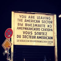 Photo taken at Checkpoint Charlie by Roger V. on 12/25/2012