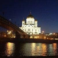 Photo taken at Patriarshiy Bridge by Radionova J. on 6/21/2013