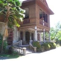 Photo taken at Bernardino-Jalandoni House Museum by Justin O. on 10/7/2014