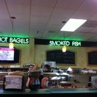 Photo taken at Bernie's Bagels by Jim G. on 8/18/2013