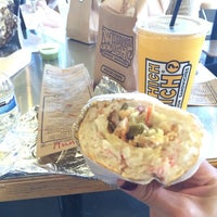 Photo taken at Which Wich? Superior Sandwiches by Monira A. on 2/12/2014