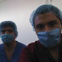 Photo taken at Facultad de Medicina by Luiz on 10/2/2014
