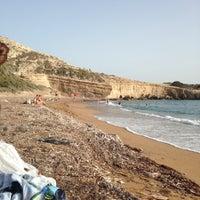 Photo taken at Fourni Beach by Alina Y. on 9/23/2014