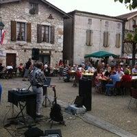 Photo taken at Pujols-le-Haut by Benoit L. on 7/17/2013