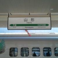 Photo taken at Yamagata Station by Slava M. on 1/11/2013