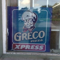 Photo taken at Greco Pizza by Justin B. on 7/14/2013