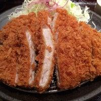 Photo taken at Tonkatsu Wako by Satoshi M. on 8/28/2014
