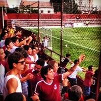 Photo taken at Estádio Conde Rodolfo Crespi by João Pedro A. on 3/2/2013